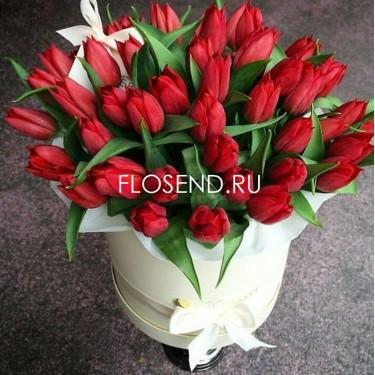 Цветы в коробке № 223